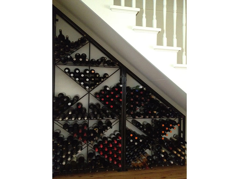 Buy Strong Steel Mesh Wine Racks Designed For Serious Wine